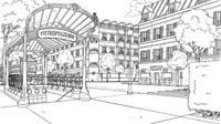 SEP 13 PERSPECTIVE DRAWING: Art Animation School Toronto AAST.ca