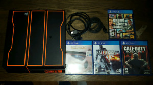 PS4 1Tb console 5 games