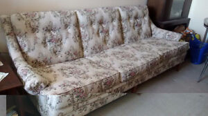 Couch and chair set from a pet free smoke free home