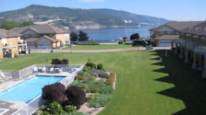 2 Bdrm Condo Fantastic view on Wood Lake Near Kelowna July/Aug