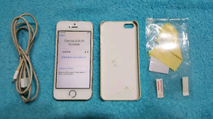 Firm$135 IPhone 5S Fido/Rogers good cond.+case+scr prot.
