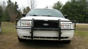 Crown Victoria Pushbars 1998-2011  Full Wraparound