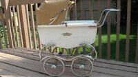 ANTIQUE DOLL CARRIAGE - WEAR-EVER