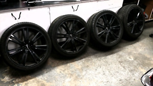 20 Inch Boss Rims and Performance Tires.