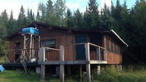Northern Log Camp and Outbuildings For Sale
