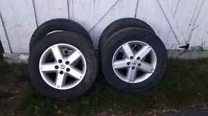 215/65R15    Tires on rims