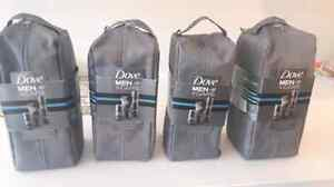 Dove Men + Care  3 items plus travel bag