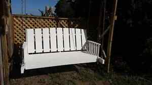 Beautiful  custome hand crafted porch swing Stratford Kitchener Area image 6
