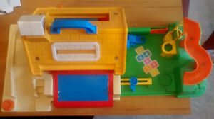 Vintage Fisher Price Little People School and Playground