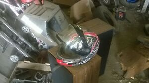 HTC Helmet good condition with new sheild