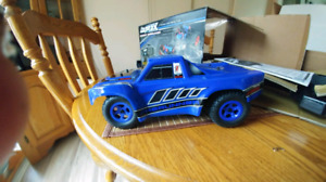 Blue Traxxas 4x4 $125. Firm price