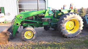 John Deere  2355 with  loader