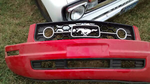 05-09 mustang front bumper cover