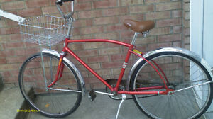 Velo urban Bicyclette antique Vintage bycicle