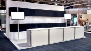 Retail  - Tradeshow - Merchandising Table - Storage - system
