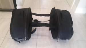 Motorcycle Givi soft saddle bags