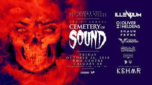 Cemetery of sound tickets!!!!!! $89