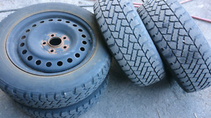 Mazda 5 and 3 winter tires and rims 205/60 16