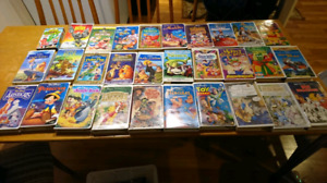 30 Children's VHS Tapes - mostly Disney