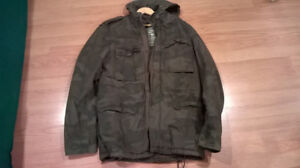 Bluenotes Military camo jacket M Mint condition