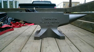 Blacksmith Anvil (290 lb.) by Edmonton Blacksmith Shop