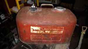 Johnson mile master boat fuel tank