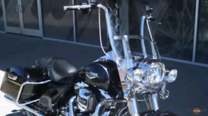 HD Road King Windshield