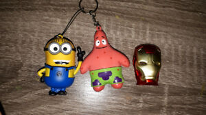 Minion USB, Patrick Star USB, Iron Man Usb flash drives