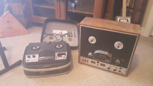 Two Tape Machines
