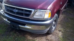 Ford F150 fenders,bumpers,grill and back glass