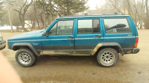 94 jeep cherokee perfect offroad unit
