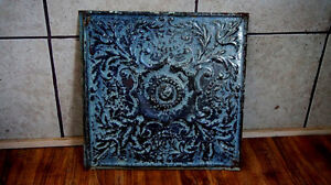 HOW COOL IS THAT! Antique Victorian Ceiling Tiles!!!