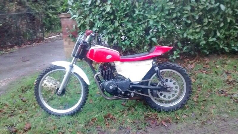 flat track sand racer honda cb250rs in kings lynn. Black Bedroom Furniture Sets. Home Design Ideas