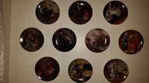 Heritage series collector plates/ Bradford exchange