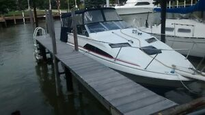 1990 Bayliner   Great on fuel 305 chevy 2 barrel