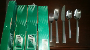 Splendide simplicity flatware 4x5pc settings silverware