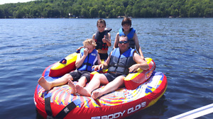 4 person toeable tube