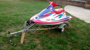 Polaris Jet Ski 750cc SL with Trailer, was out last weekend