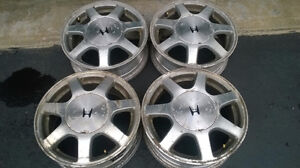 4 Alloy Rims 15""