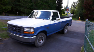 1993 ford for f150 shortbox put 300 6 cylinder