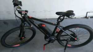 ebike over 150 km range. Top-of-the-line gear and parts tire
