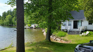 Cottage on Otty Lake for rent $1550 weekly. Min 3 night rental.
