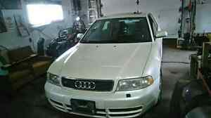 Audi S4 v6 twin turbo all wheel drive.