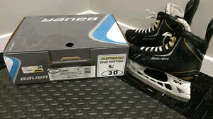 Bauer Supreme One Matrix hockey  skates size 3
