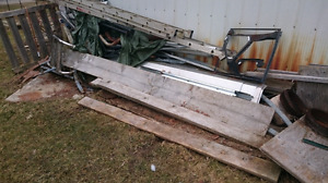 Scrap metal to be picked up