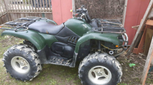 ATV to trade for a boat