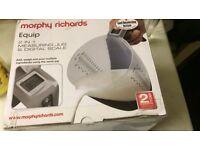 Morphy Richards digital scale and jug