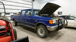 6.9 diesel, 4x4, 5sp. Trade for another diesel.