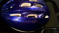 4 children-sized bike helmets from toddler to middle schooler