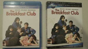 Breakfast Club Universal 100th Anniversary Edition Blu-ray + DVD
